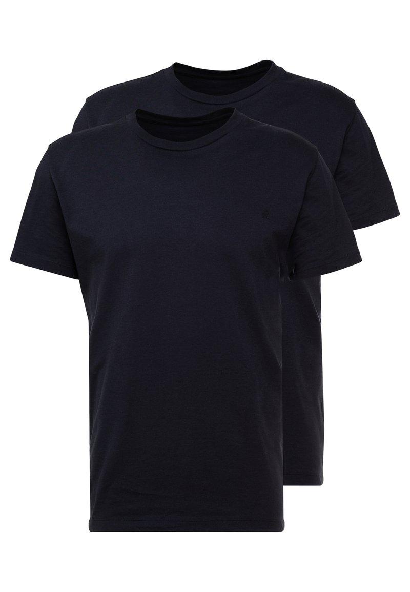 Replay - 2 PACK - T-shirt basic - navy