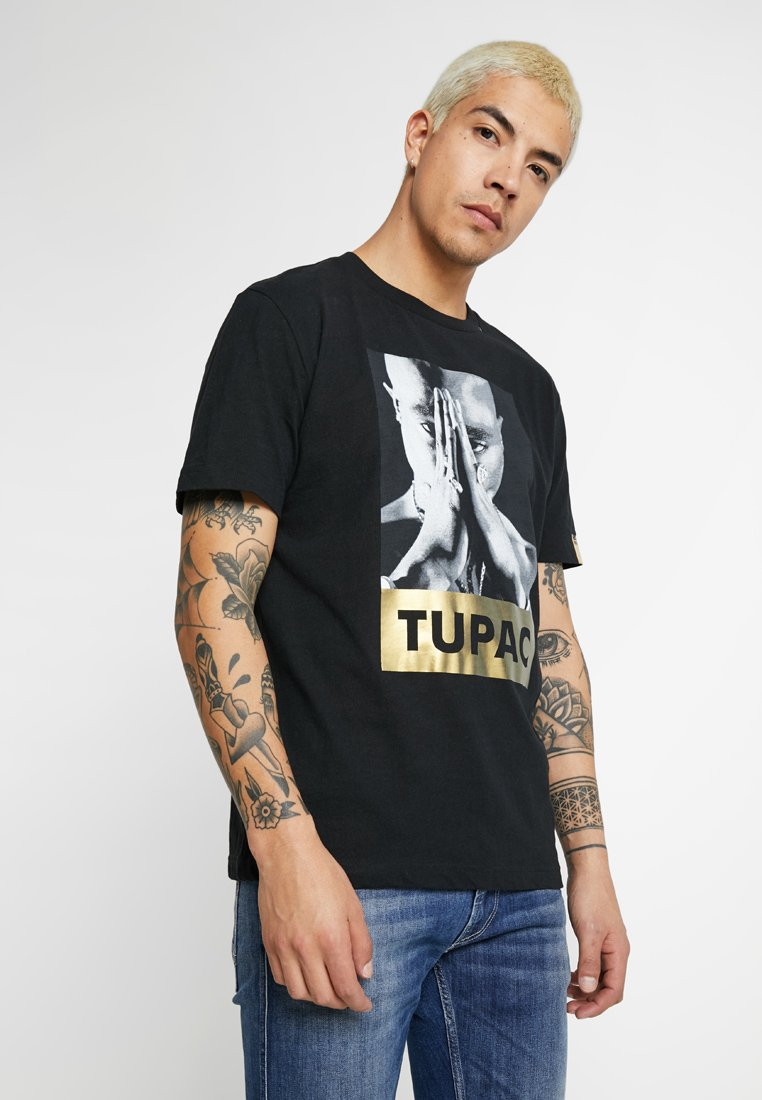 Replay - 2PAC TEE - T-Shirt print - black