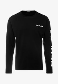 Replay - Maglietta a manica lunga - black - 3