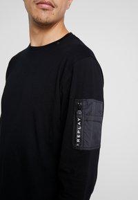 Replay - T-shirt à manches longues - black - 4