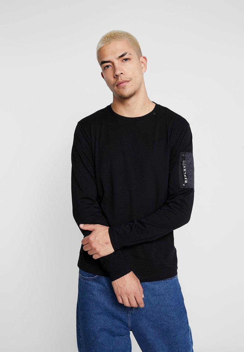 Replay - T-shirt à manches longues - black