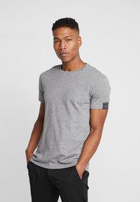 Replay - T-shirt basic - grey melange - 0