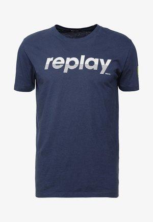 T-shirt z nadrukiem - night blue