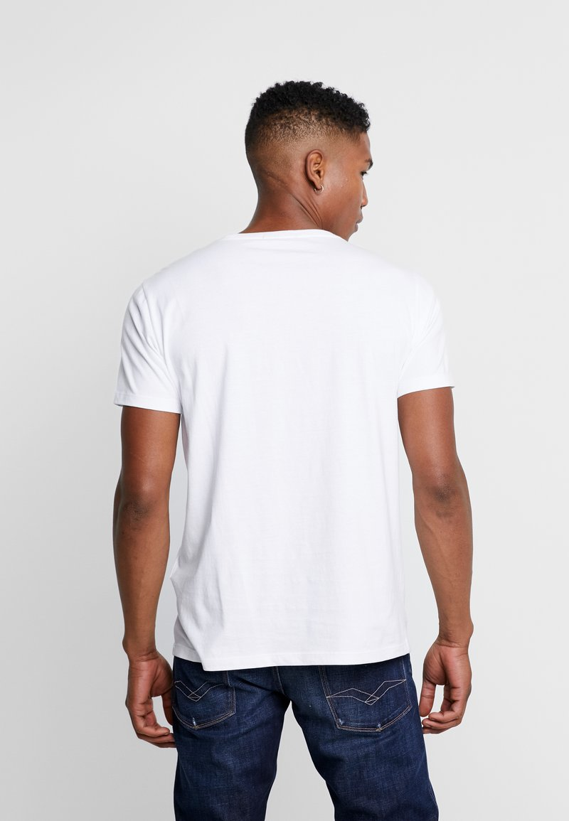 Replay T-shirts med print - white