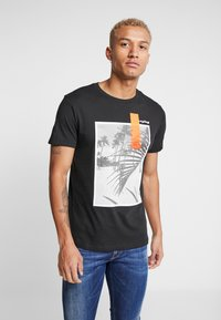Replay - Print T-shirt - black - 0