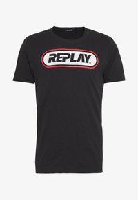 Replay - Print T-shirt - blackboard - 3