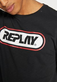 Replay - Print T-shirt - blackboard - 4