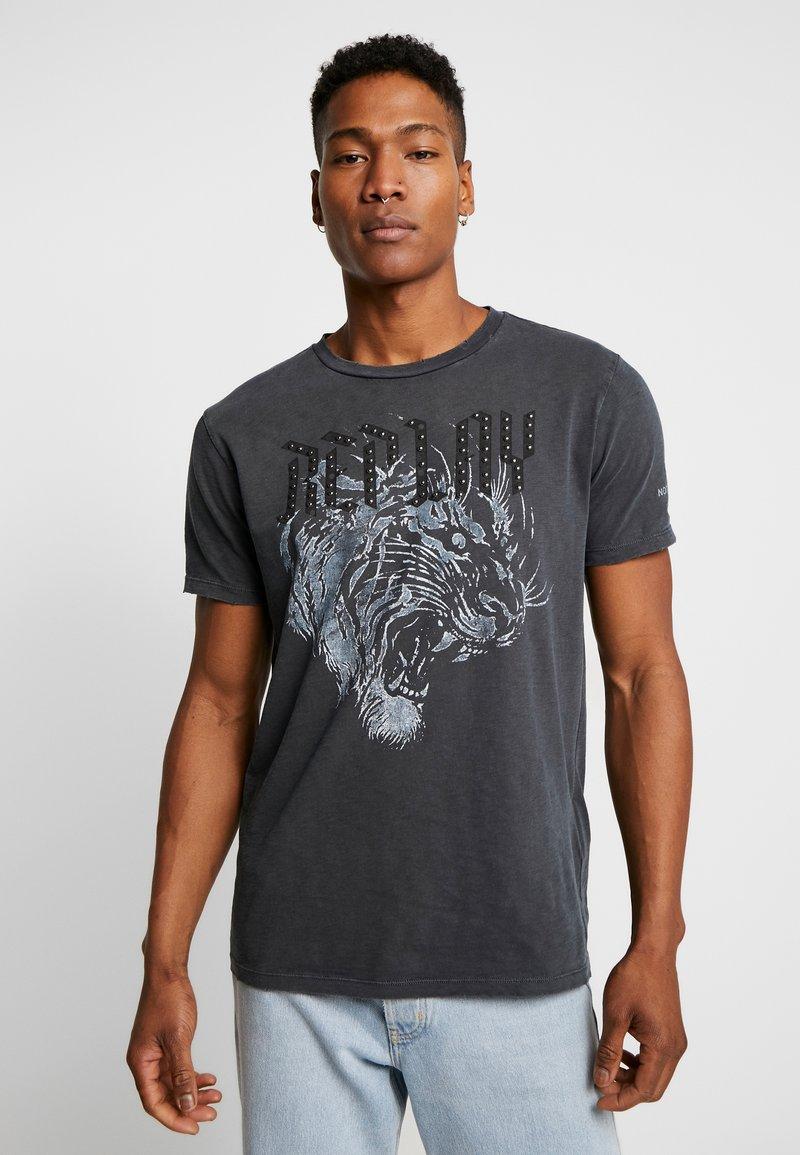 Replay - T-shirt con stampa - blackboard