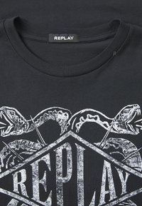 Replay - T-shirt con stampa - blackboard - 2