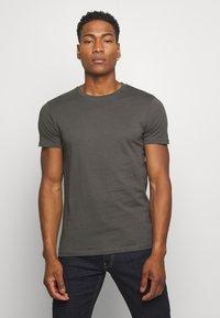 Replay - Basic T-shirt - slate grey - 0