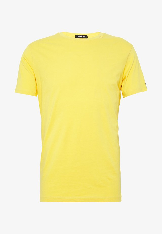 T-Shirt basic - corn yellow