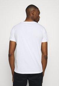 Replay - 3 PACK - Basic T-shirt - black/grey melange/white - 3