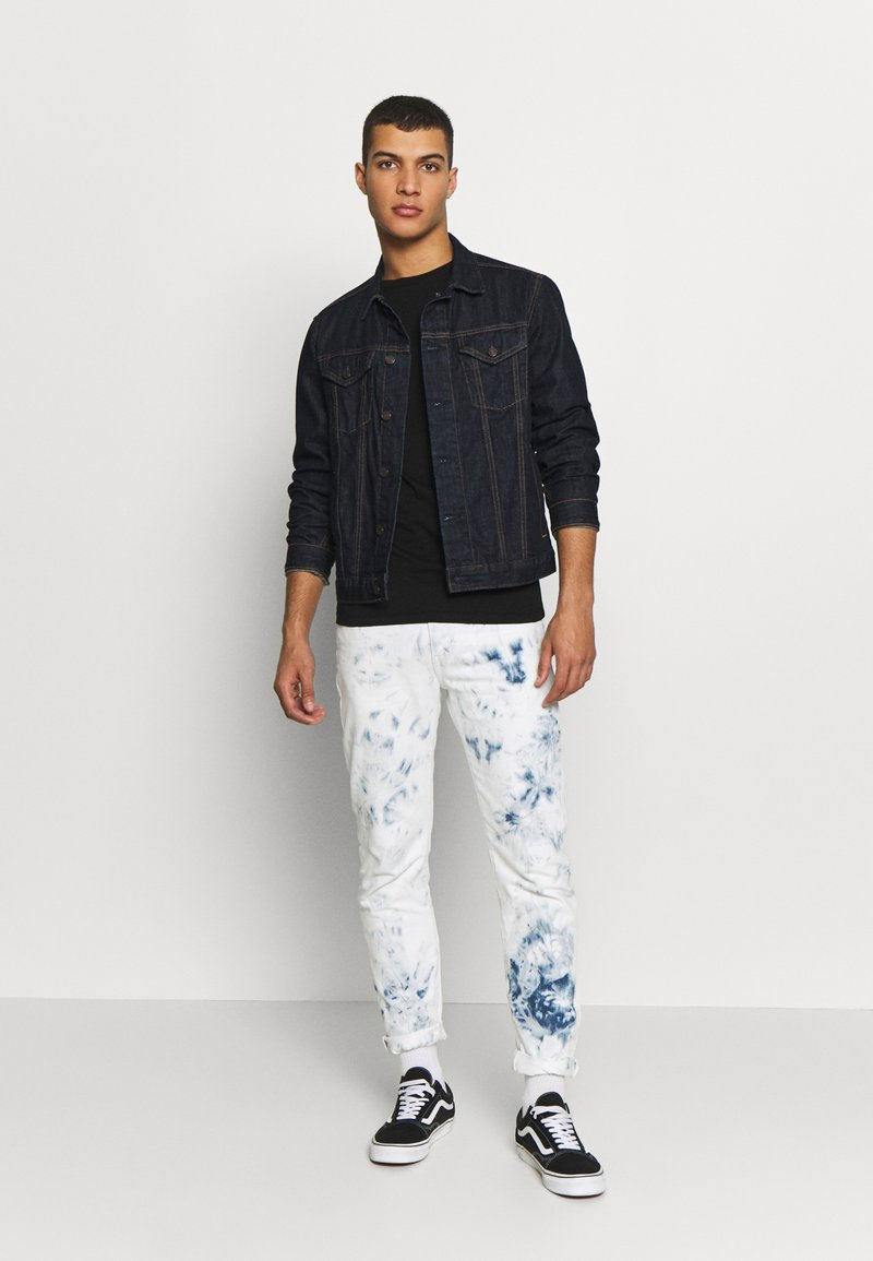 Replay - 3 PACK - T-shirt basique - black/ grey melange/ bordeaux melange