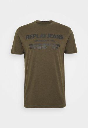T-shirt print - military