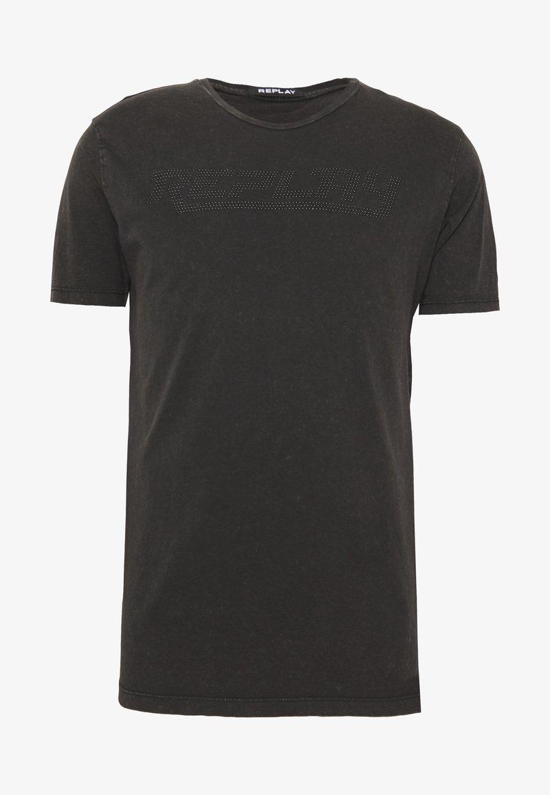 Replay - T-shirt imprimé - blackboard