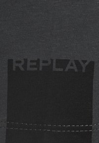 Replay - T-shirt basique - cold grey - 2