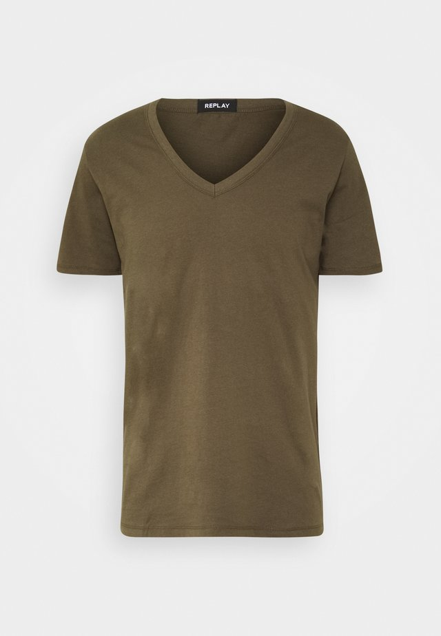 T-shirt - bas - military