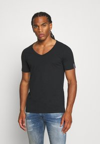 Replay - T-shirt basic - off black - 0