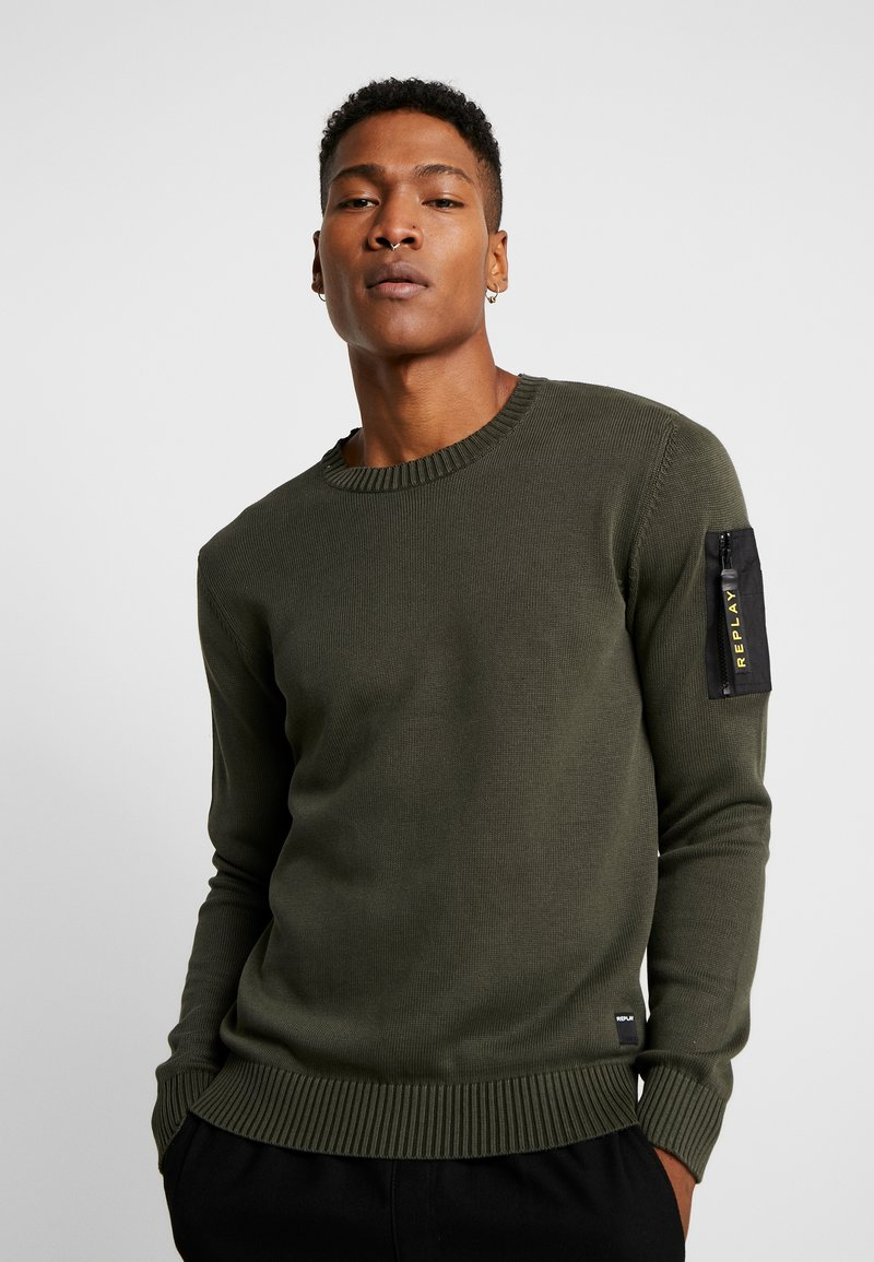 Replay - Maglione - olive