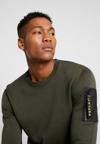 Replay - Maglione - olive - 3
