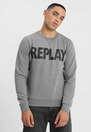 Sweatshirt - melange grey