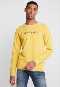 Replay - Sweatshirt - vintage yellow - 0