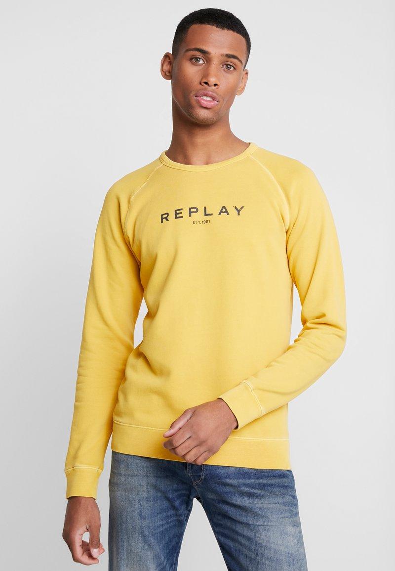Replay - Sweatshirt - vintage yellow