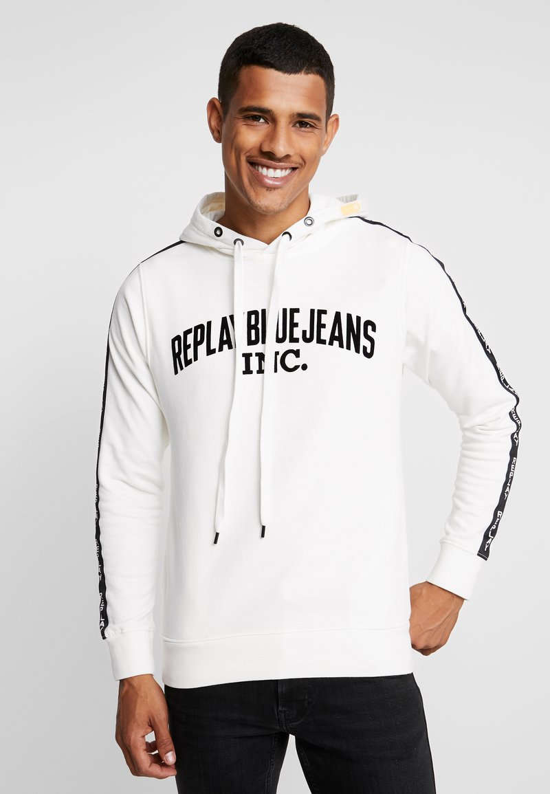 Replay - Hoodie - off white