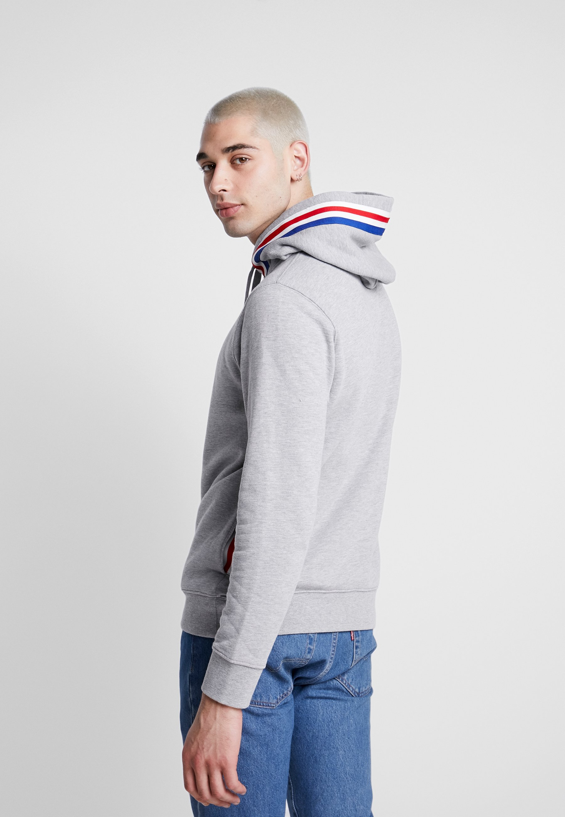 Replay Sweat à capuche grey melange ZALANDO.FR