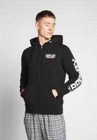 Replay - Zip-up hoodie - black - 0