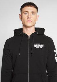 Replay - Zip-up hoodie - black - 3
