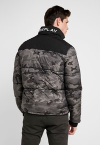 Replay - Allvädersjacka - black/grey camo - 2