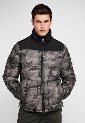 Lett jakke - black/grey camo