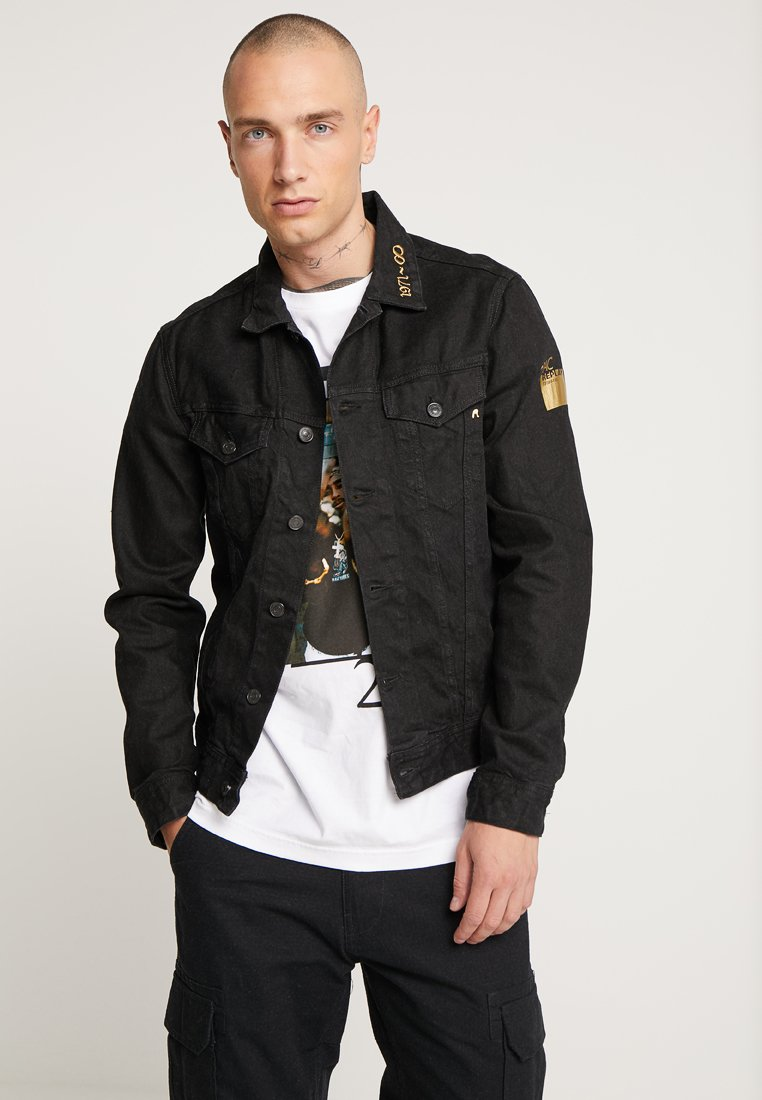 Replay - Jeansjacke - black