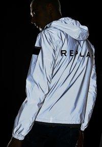 Replay - Summer jacket - reflective silver - 4