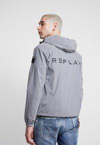 Replay - Summer jacket - reflective silver - 2