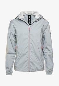Replay - Summer jacket - reflective silver - 5