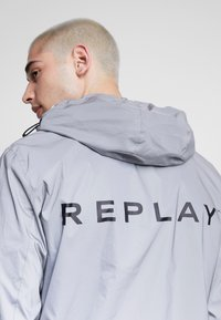 Replay - Summer jacket - reflective silver - 3