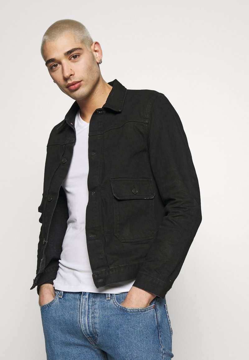 Replay - Denim jacket - black