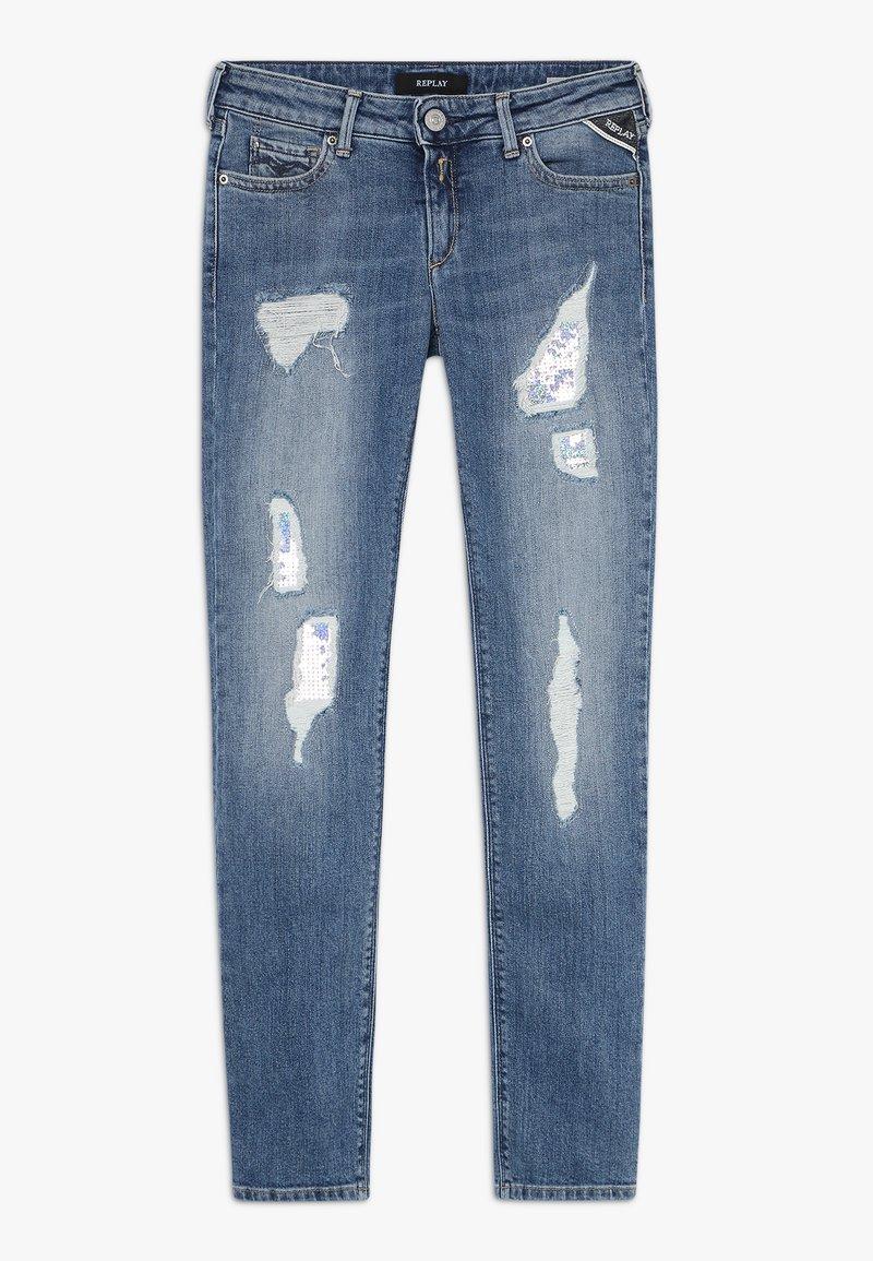 Replay - Jeans Skinny Fit - light blue denim