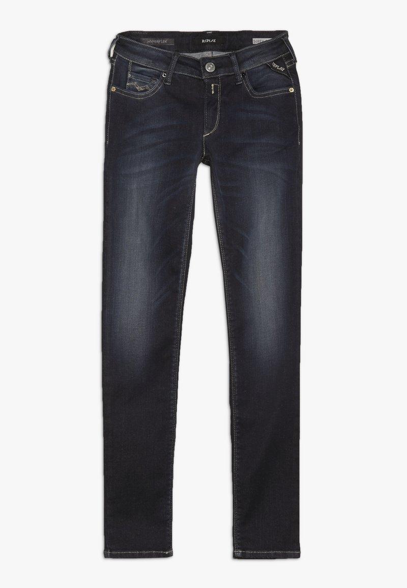 Replay - HYPERFLEX STRETCH - Jeans Slim Fit - dark-blue denim