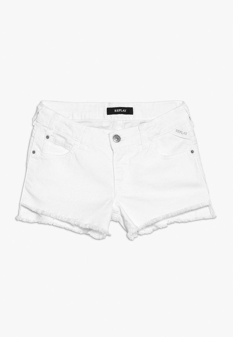 Replay - Jeansshort - white