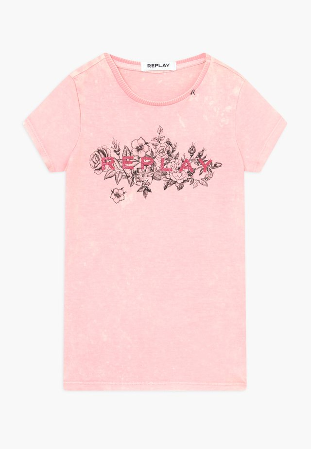 T-shirts print - light pink