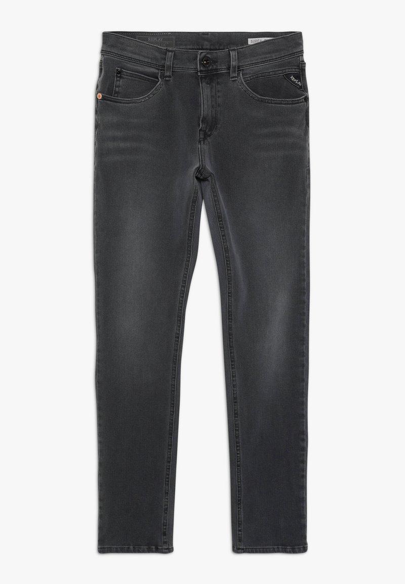 Replay - HYPERFLEX - Jeans Slim Fit - grey denim