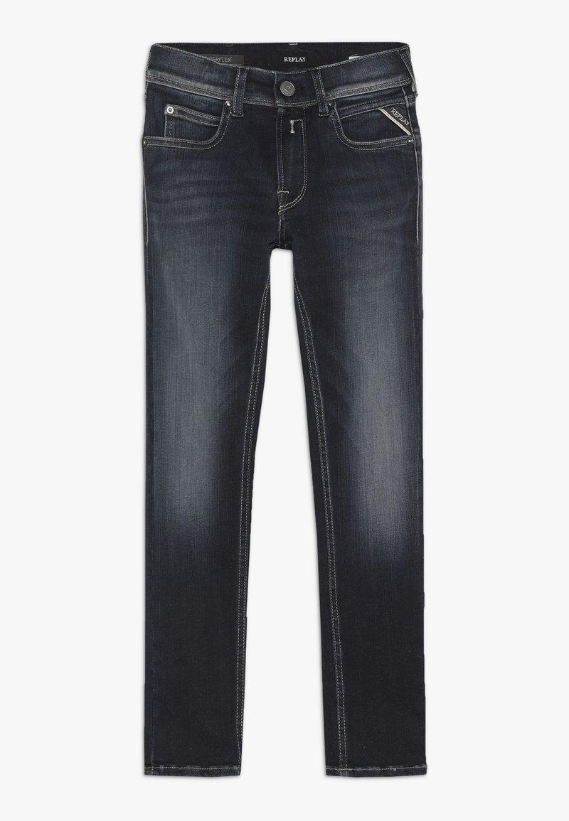 Replay - HYPERFLEX - Jeans Slim Fit - blue denim
