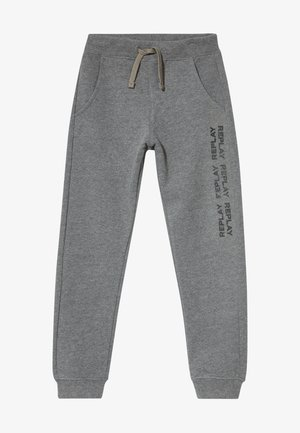 Pantalon de survêtement - mottled grey