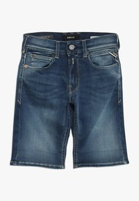 Replay - Denim shorts - medium blue - 0