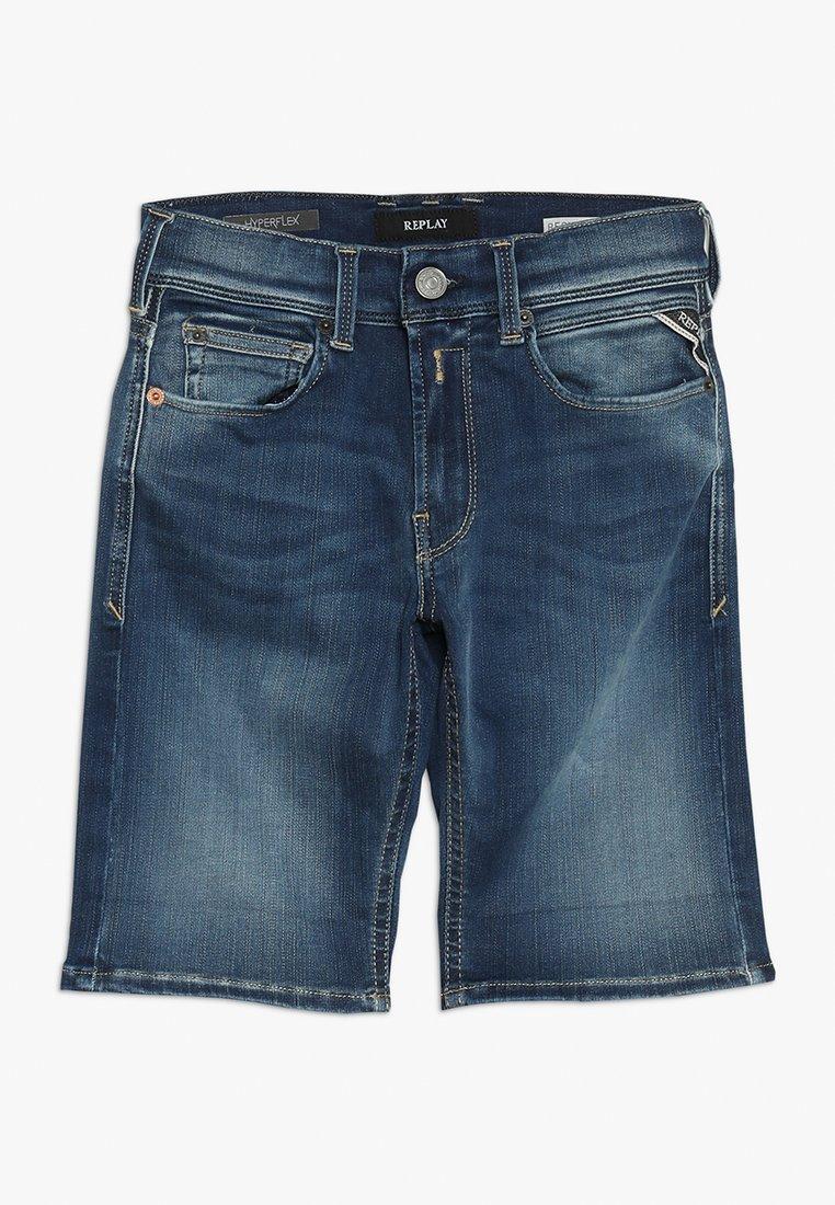 Replay - Denim shorts - medium blue