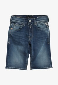 Replay - Denim shorts - medium blue - 4