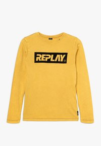 Replay - Long sleeved top - mustard yellow - 0